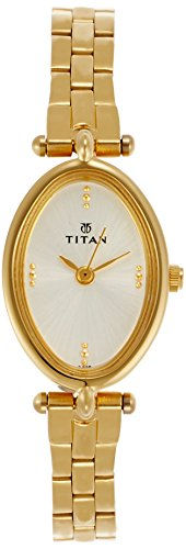 Titan Karishma Analog White Dial Womens Watch Ne2418ym0...
