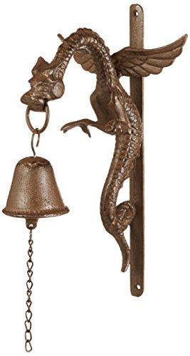 Design Toscano Florentine Dragon Gothic Iron Halloween Doorbell