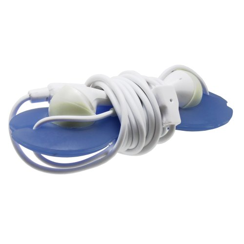 Fosmon® Headset Smart Wrap Wire Cord Organizer For Headphone - Blue