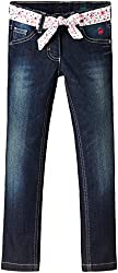 United Colors of Benetton Baby Girls Jeans (15P4CU957150G9020Y_Blue_0Y)