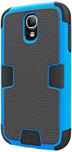Cygnett CY1201CXWOR Cygnett CY1201CXWOR WorkMate Case for Galaxy S4 - Bright Blue - Skin - Retail Packaging - Bright Blue
