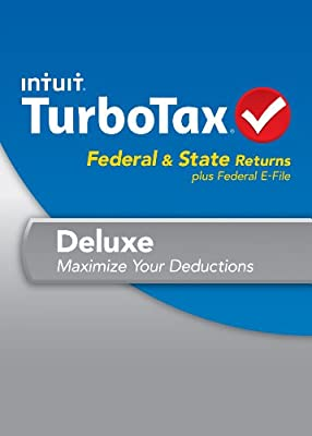TurboTax Deluxe Fed, Efile and State 2013