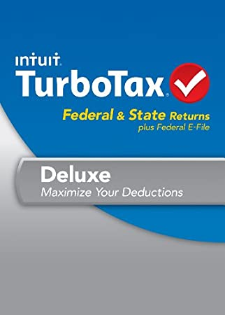 TurboTax Deluxe Fed + Efile + State 2013 with Refund Bonus Offer [Download]