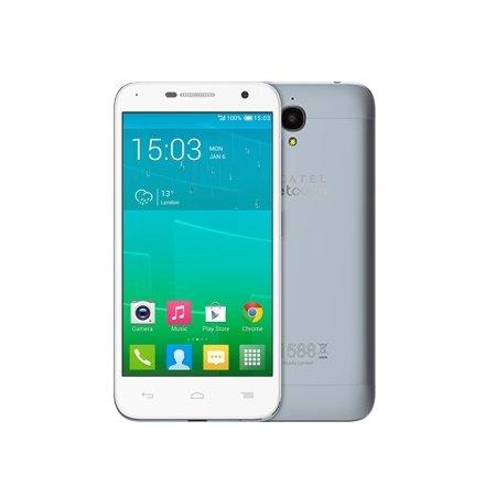 Alcatel 6016X-2AALDE1 One Touch Idol 2 Mini Smartphone (11,4 cm (4,5 Zoll) Display, 8 Megapixel Kamera, Android Jelly Bean 4.3) blau