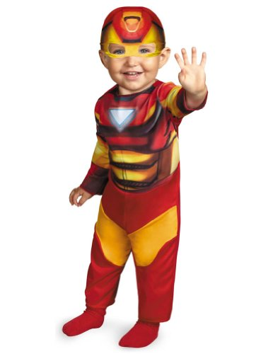 Baby-Toddler-Costume Iron Man Toddler Costume 12-18 Months Halloween Costume