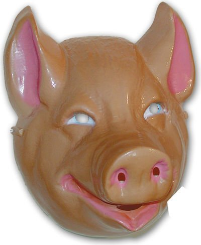 Rubie's Costume Co Animal Mask-Pig Costume