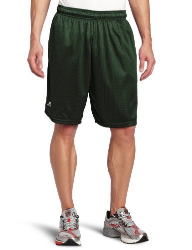Russell Athletic Men's Mesh Pocket Short, Dark Green, XXX-La