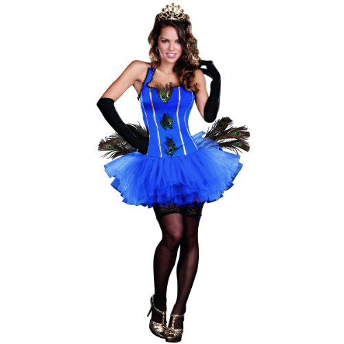 Royal Peacock Costume - Small - Dress Size 2-6