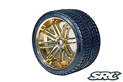 SRC Road Crusher (Bronze) for 17mm hex / E-REVO (Pair)