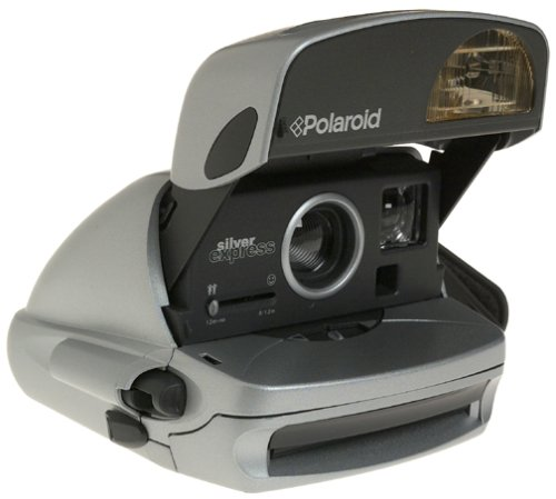 Polaroid One Step Silver Express Instant 600