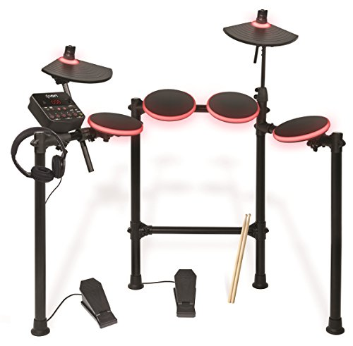 ion-audio-redline-drums-illuminated-usb-electronic-drum-kit-with-drumsticks-and-headphones-included