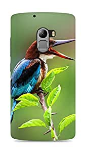 Amez designer printed 3d premium high quality back case cover for Lenovo K4 Note (Nature Beautiful Tweet Kingfisher)
