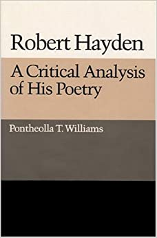 An analysis of robert haydens poems and poetic writing