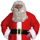Santa Claus Wig & Beard Set (Curly) Adult Costume Accessory