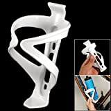 Cycling Bicycles Plastic Drink Bottle Holder Cage White
