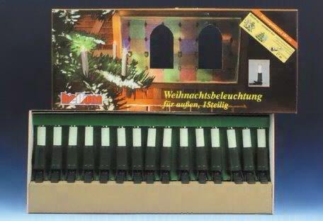 Weihnachts-Lichterkette für außen