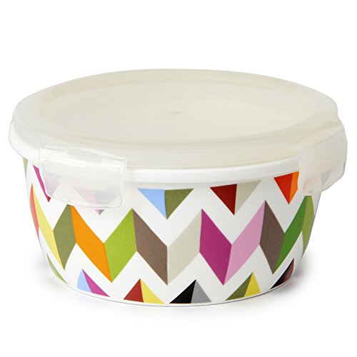 French Bull - Food Storage Container & Air Tight Lid - 600ml Porcelain Large Food Container - Ziggy (Ceramic Food Container compare prices)