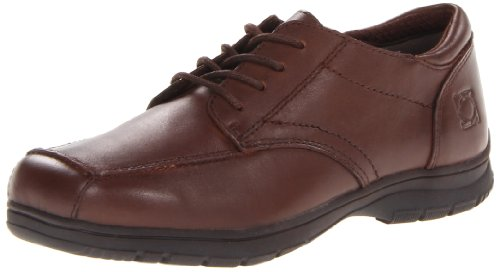 Kenneth Cole Reaction Blank Check Oxford (Little Kid/Big Kid),Dark Brown,13.5 M Us Little Kid front-870050