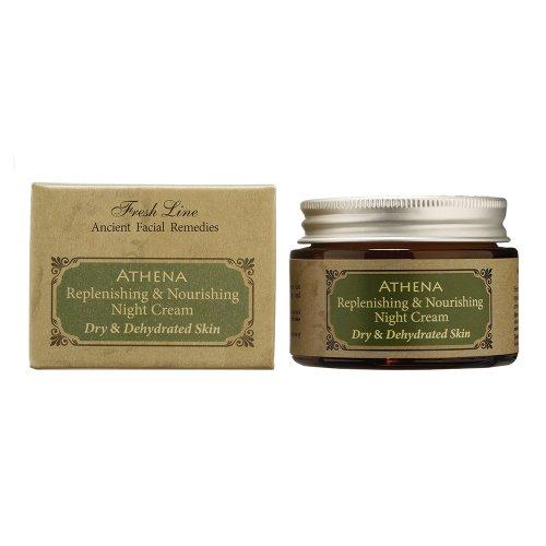 linea-fresco-crema-nutriente-notte-athena-per-secche-e-disidratate-pelle-50-ml