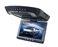 buy Tview 12.1-Inch Tft Lcd Flip-Down Roof Mount Built-In Dvd Player With Fm Modulator/Ir Transmitter/Usb And Sd Input