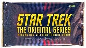 Star Trek: The Original Series Heroes & Villains Trading Cards Pack (Rittenhouse 2013)