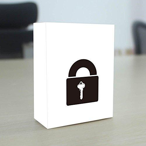 G2PLUS Transparents Schloss Schlössern Vorhängeschlösser Übungsschloss mit 2 Stabilen Schlüsseln für Schlosser Anfänger - 7