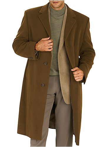 Calvin Klein Full-Length Vicuna Cashmere Blend Topcoat Picture