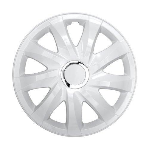 Radkappen Radblenden Radzierblenden DRIFT weiss 14 Zoll Volkswagen VW Corrado, Fox, Golf 2, 3, 4, Cabrio, Vento, Jetta