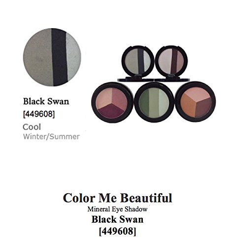 Color Me Beautiful Mineral Eye Shadow - Black Swan [449608] (Cool) (WINTER/SUMMER) (Black Swan Eye Make Up)