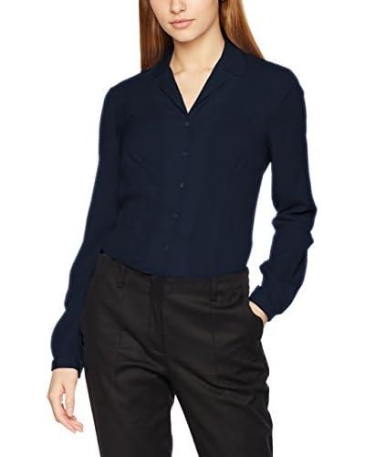 Nife Camisa Mujer Azul Marino S (EU 36)