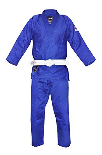 Fuji Single Weave Judo GI Blue
