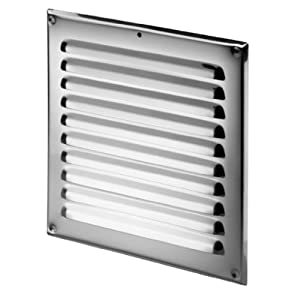 10x10 Bathroom Vent Cover Stainless Steel Air Vent Grille Cover 250x250  10x10
