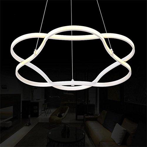 Creative Light-Chandelier Creative Arts personalità anello onda lampadario