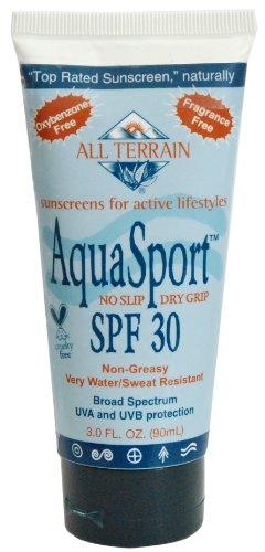 All Terrain AquaSport SPF30 Natural Sunscreen Lotion (3- Ounce) [Misc.]