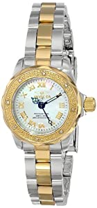 Invicta Women's 16947 Wildflower Analog Display Swiss Quartz Two Tone Watch