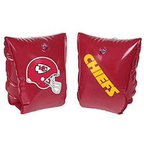 NFL Ages 3-6 Years Inflatable Water Wing NFL Team: Kansas City Chiefs - 1