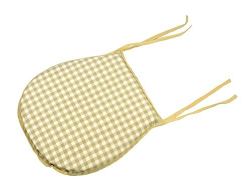 8-x-cache-funky-gingham-check-square-cream-beige-tassel-zip-fastening-100-cotton-seat-pad-cushions-3