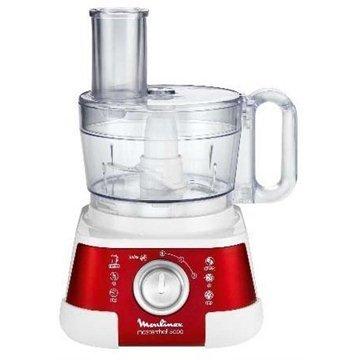 Moulinex Masterchef 5000 - Robot de cocina (Rojo, Metal, Acero...