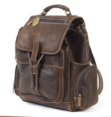 B005UZG6ZI Claire Chase 332S-d.brown Uptown Bak-Pak – Distressed Brown