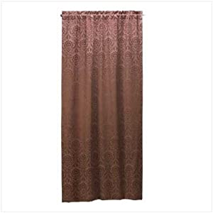 Pier One Damask Winow Panel Curtain | eBay