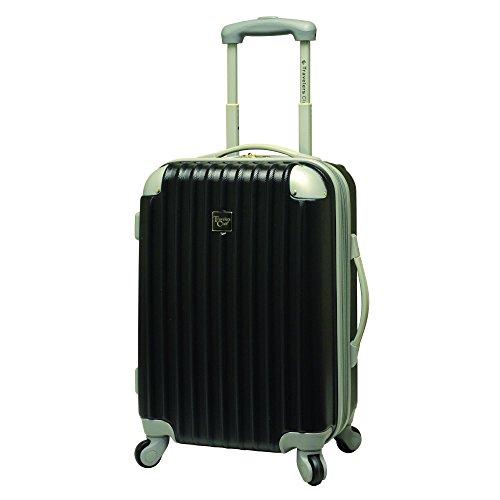 Travelers Club Luggage Modern 20 Inch Hardside
