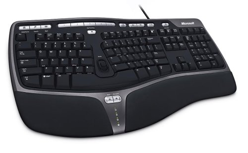 Microsoft Natural Ergonomic Keyboard 4000 (B2M-00012) USB接続 英語版