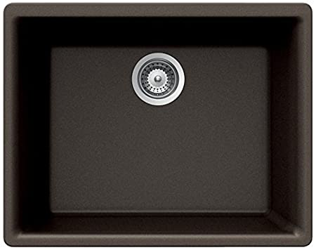 SCHOCK GAXN100YU042 GALAXY Series CRISTALITE Undermount Single Bowl Kitchen Sink, Concrete