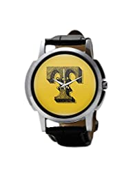 PosterGuy Alphabet T Typography Men's Wrist Watches