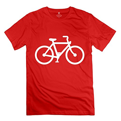 Bike Biking O Neck Men Tees Shirt Red Size XS Customized By Rahk (Milwaukee Brewers Cycling compare prices)