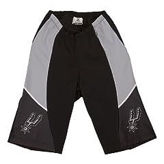 NBA San Antonio Spurs Ladies Cycling Shorts, X-Large by VOmax