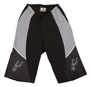 NBA San Antonio Spurs Ladies Cycling Shorts, XX-Large by VOmax