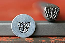 Supply Guy 7mm Butterfly Metal Punch Design Stamp 375-62