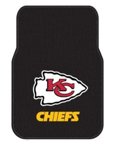 NFL Kansas City Chiefs Two-Pack Front Car Floor Mat (Kansas City Chief Car Mats compare prices)