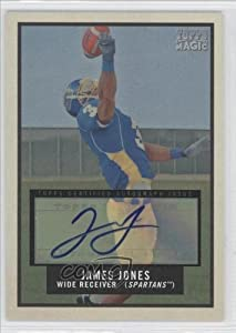 Buy James Jones San Jose State Spartans (Football Card) 2009 Topps Magic Certified Autograph [Autographed] #240 by Topps Magic